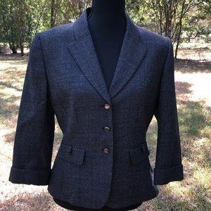 Tahari Arthur S Levine wool blazer, like new
